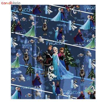 تصویر از کاغذ کادو گلاسه طرح السا بسته ی 5 عددی