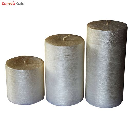 تصویر از شمع طرح شاین 1 مجموعه 3 عددی