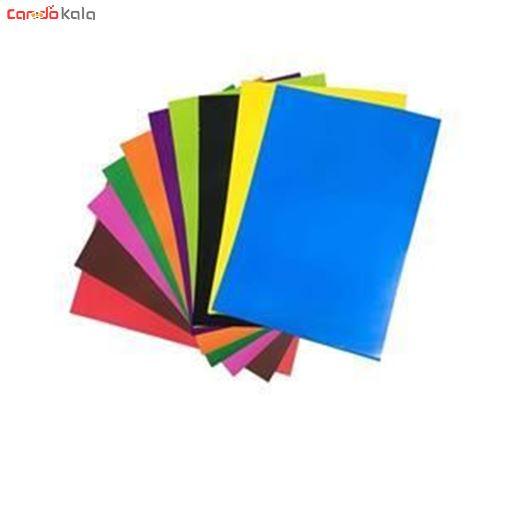 تصویر از مقوا رنگی بسته ی 10 عددی