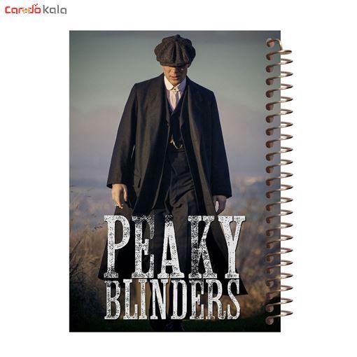 تصویر از دفترچه یادداشت مدل آفتاب طرح Peaky Blinders کد 01